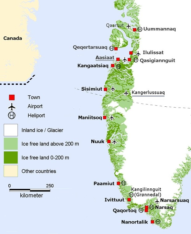 Index of travelgreenland