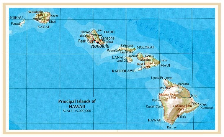 USAHawaiian Islands